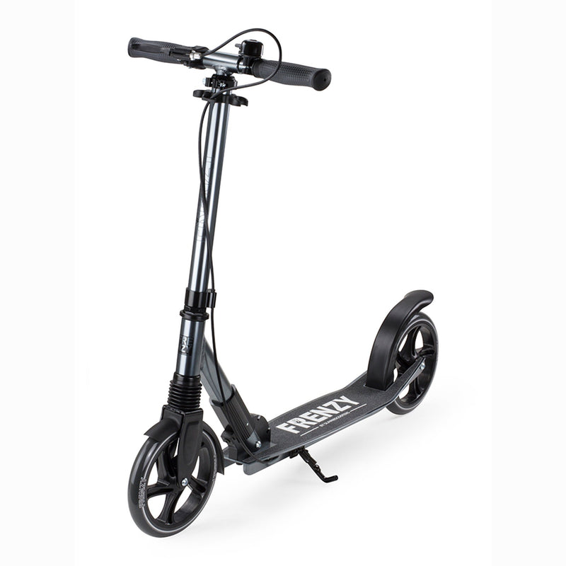 Frenzy Scooters 205mm Dual Brake Recreational Scooter, Titanium Stunt Scooter Frenzy Scooters