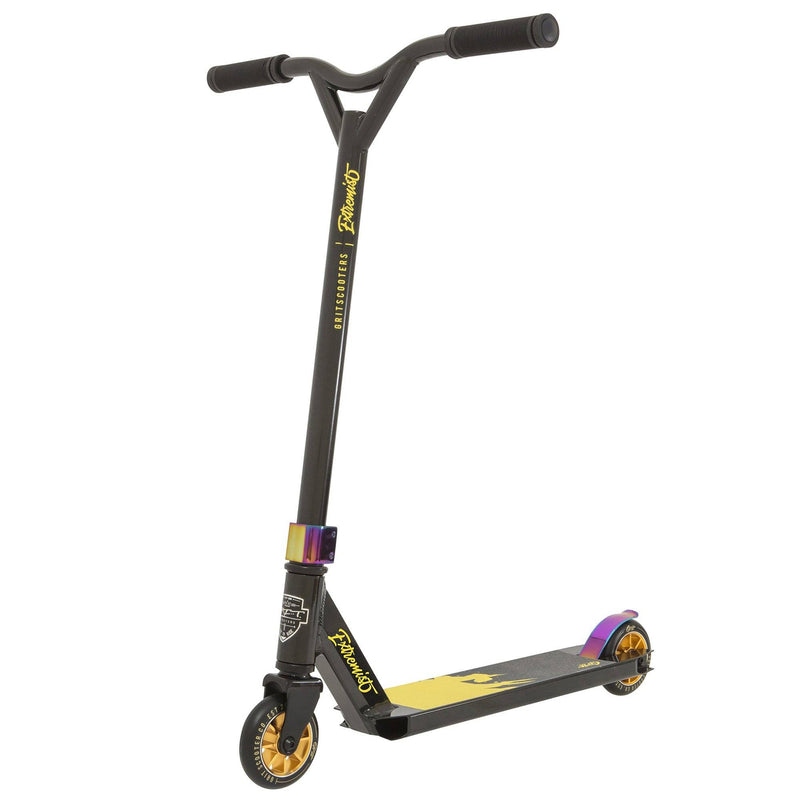 Grit Scooters 2019 Extremist Complete Stunt Scooter, Black/Gold Complete Scooters Grit