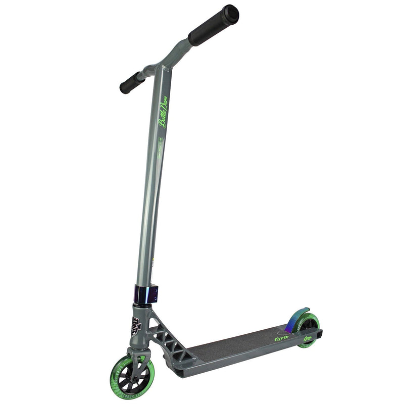 Grit Scooters 2019 Elite Complete Stunt Scooter, Satin Sky Grey Complete Scooter Grit