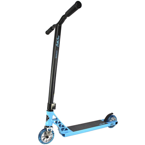 Grit Scooters 2019 Elite Complete Stunt Scooter, Bondi Blue/Satin Black