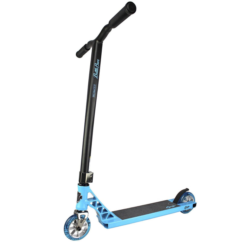 Grit Scooters 2019 Elite Complete Stunt Scooter, Bondi Blue/Satin Black Complete Scooter Grit