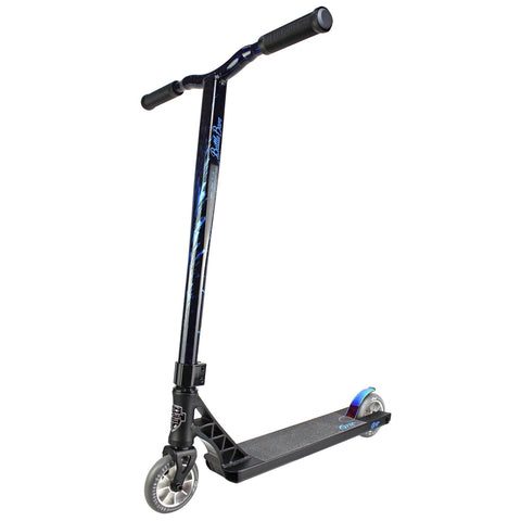 Grit Scooters 2019 Elite Complete Stunt Scooter, Satin Black/Laser Blue