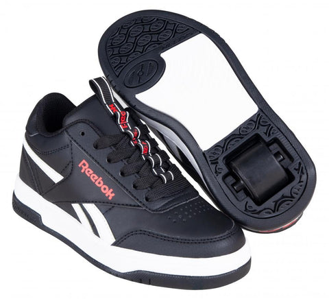 Heelys X Reebok CL Court Low, Black/White