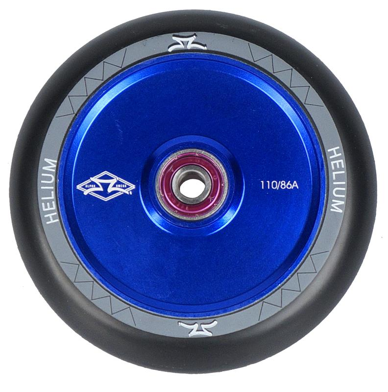 AO Scooters Helium Stunt Scooter Wheel 110mm, Blue