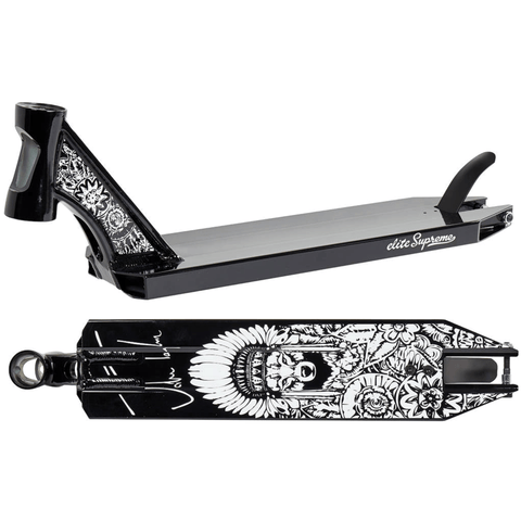 "Elite Scooters Jake Taylor Signature Stunt Scooter Deck 19.8"", Black"