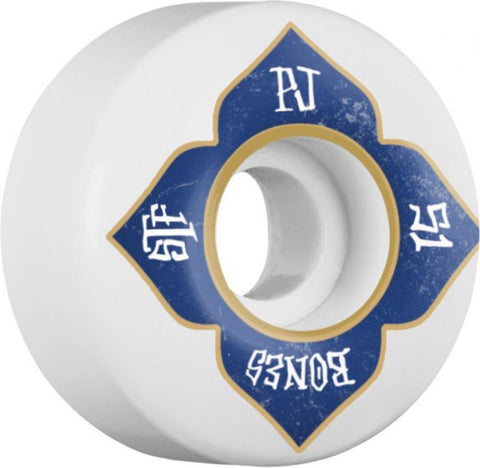 Bones Skateboard Wheels 51mm Wheels, STF Ladd Lotus V1