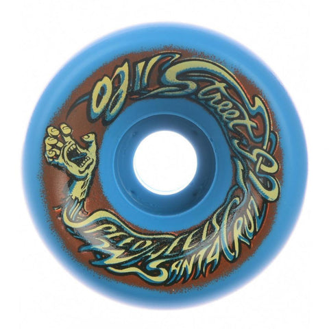 Oj Reissue Speed Skateboard Wheels 92a 60mm, Blue