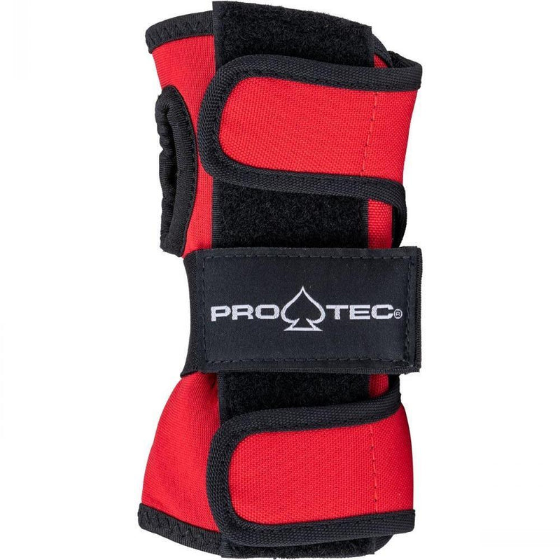Pro-Tec Street Wrist Guards, Red/White/Black Protection Pro Tec