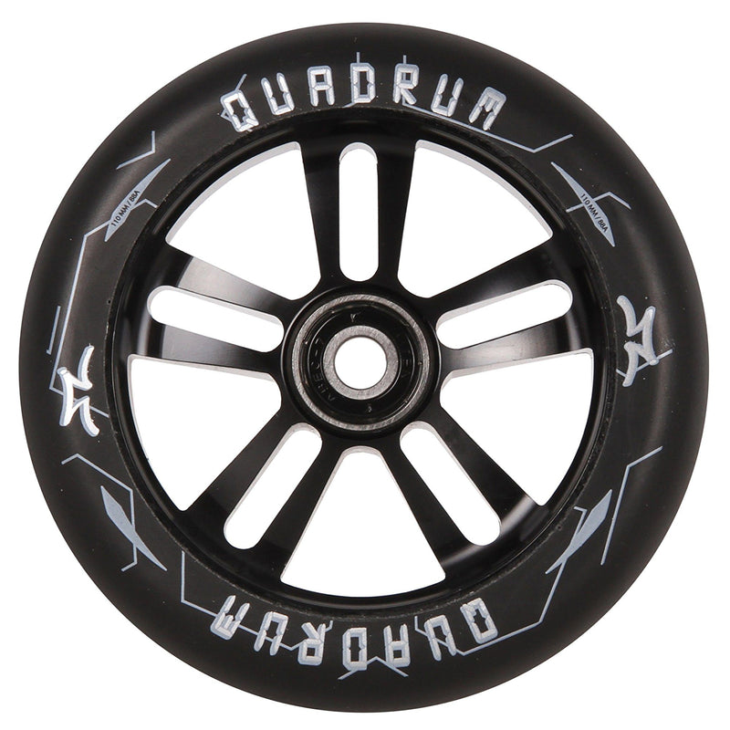 AO Scooters Quadrum Stunt Scooter Wheel 110mm, Black