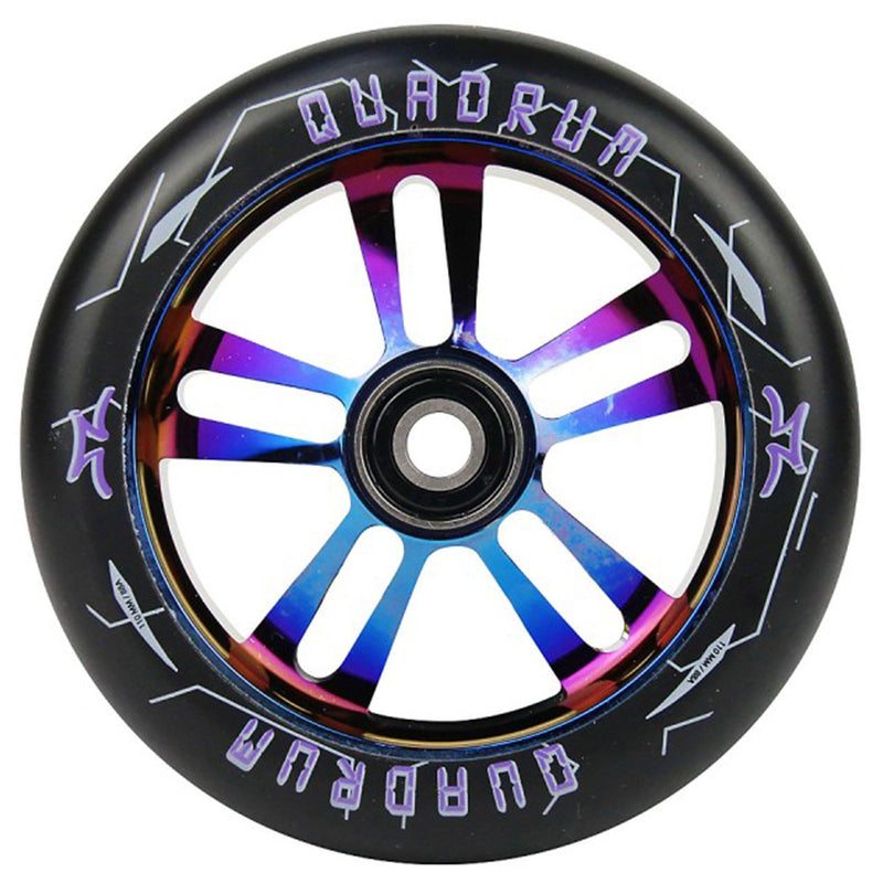 AO Scooters Quadrum Stunt Scooter Wheel 110mm, Burnt Pipe