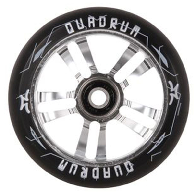 AO Scooters Quadrum Stunt Scooter Wheel 100mm, Chrome
