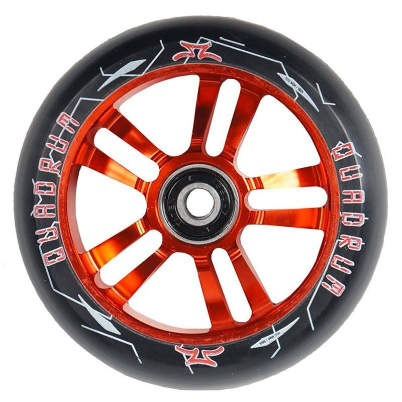 AO Scooters Quadrum Stunt Scooter Wheel 100mm, Red Stunt Scooter AO Scooters