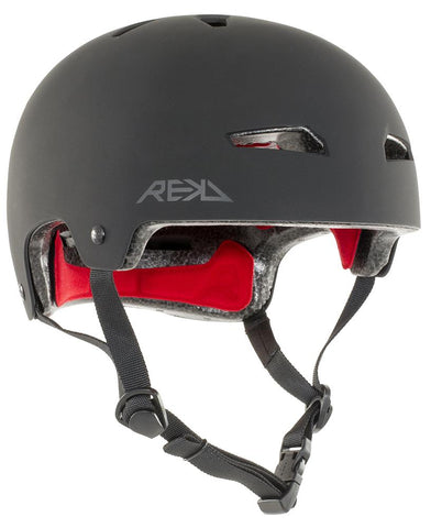 REKD Protection Elite Helmet, Black/Black