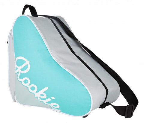 Rookie Quad Skate & Roller Derby Bag, Blue/Grey