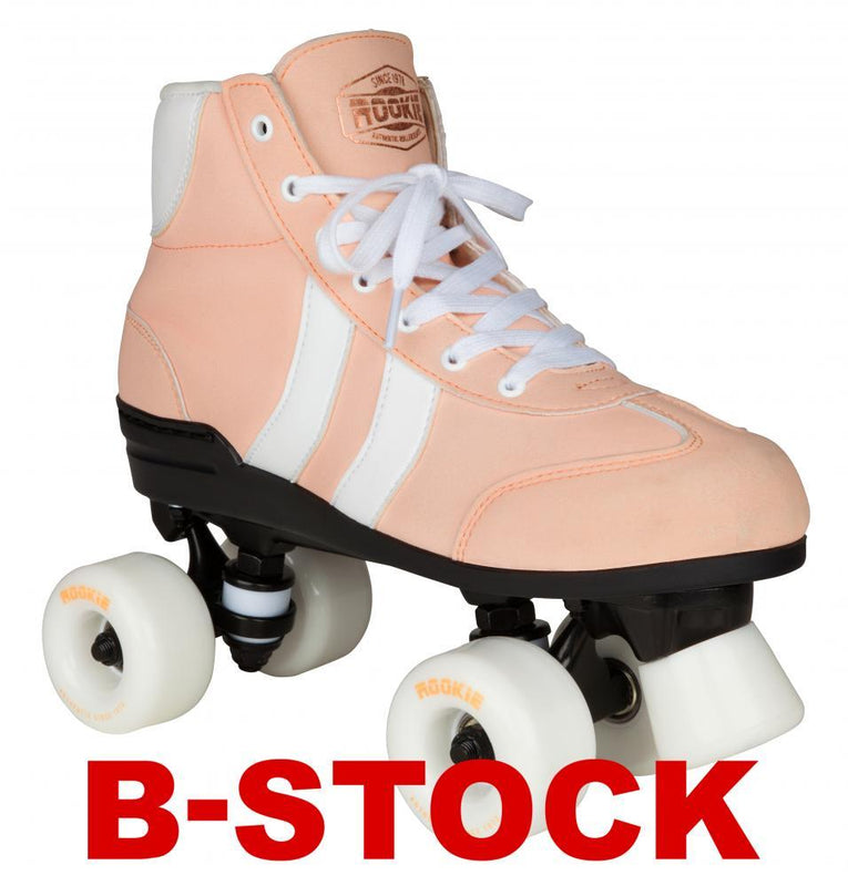Rookie Quad Rollerskates Authentic B STOCK - Pink/White Quad Roller Skates Rookie