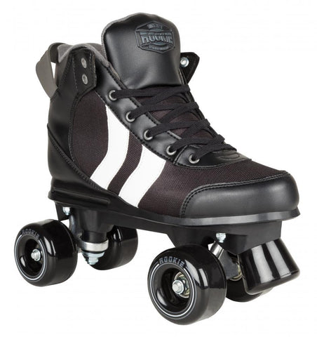 Rookie Rollerskates Deluxe - Black/White/Grey