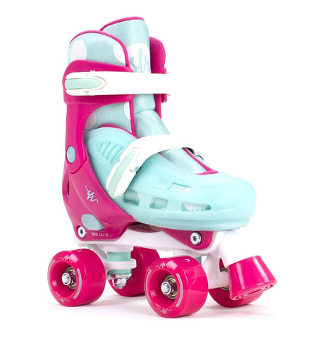 SFR Hurricane II Adjustable Kid Skates - Pink/Blue