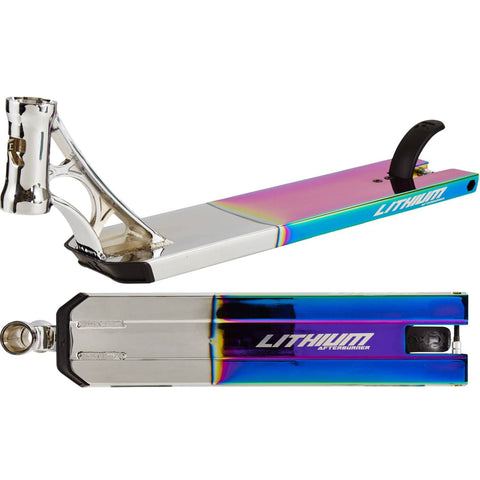 "Root Industries Afterburner Lithium Stunt Scooter Deck 20.7"", Chrome"