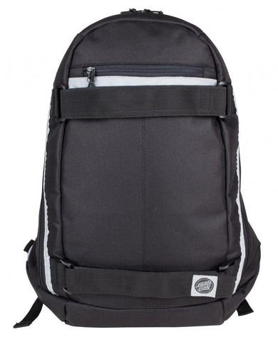 Santa Cruz Skateboards Plaza Backpack, Black