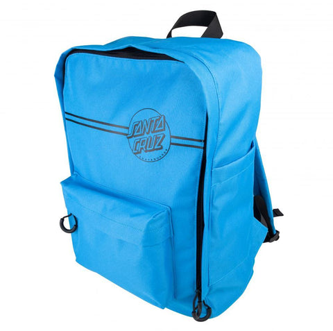 Santa Cruz Skateboards Opus Dot Stripes Backpack, Blue