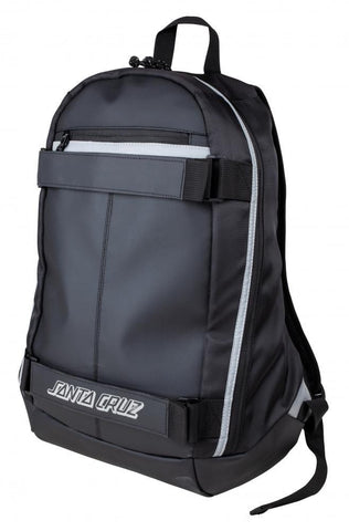 Santa Cruz Skateboards Classic Strip Backpack, Black