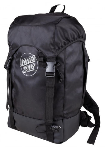 Santa Cruz Skateboards Trail Backpack, Black