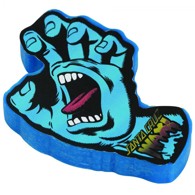Santa Cruz Screaming Hang Curb Wax, Blue Wax Santa Cruz