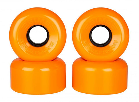 Sims Quad Skate Wheels Street Snakes 62mm/78a - Orange