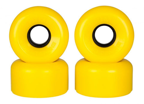 Sims Quad Skate Wheels Street Snakes 62mm/78a - Yellow