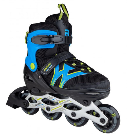 Skatelife Inline Skates Motion Adjustable, Black/Blue