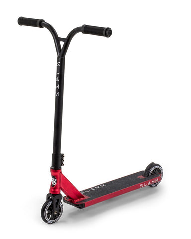 Slamm Assault IV Stunt Scooter - Red