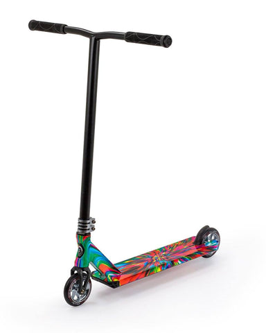 Slamm Strobe II Stunt Scooter - Swirl Multicoloured