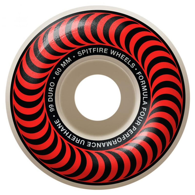Spitfire Wheels Formula Four Classics 99DU 60mm Skateboard Wheels Spitfire