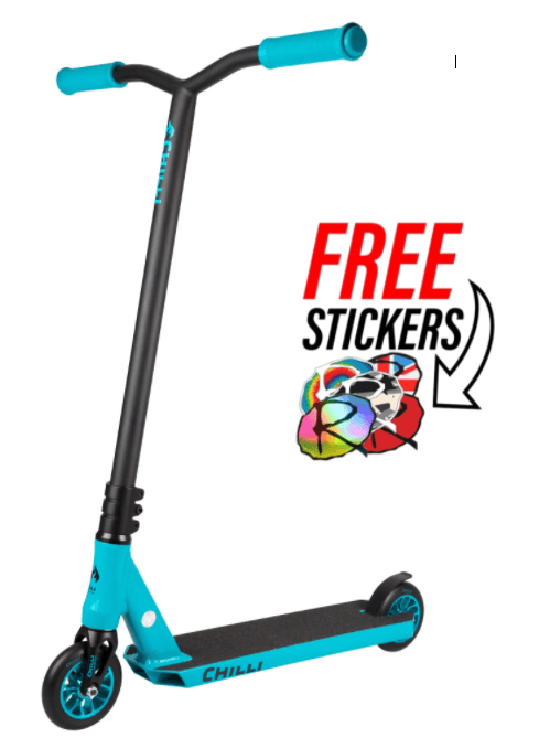 Chilli Pro Scooters All Star Reaper Complete Stunt Scooter - Ice/Black Stunt Scooter Chilli Pro