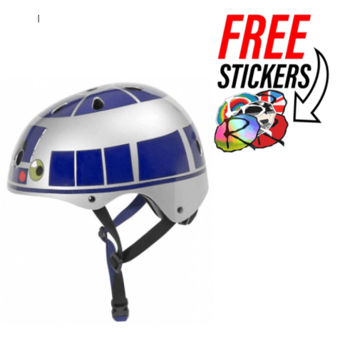 Disney Star Wars Adjustable Kids Bike Helmet, R2D2