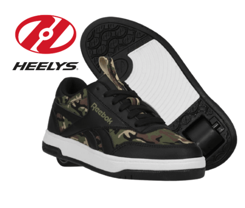 Heelys X Reebok CL Court Low, Camo