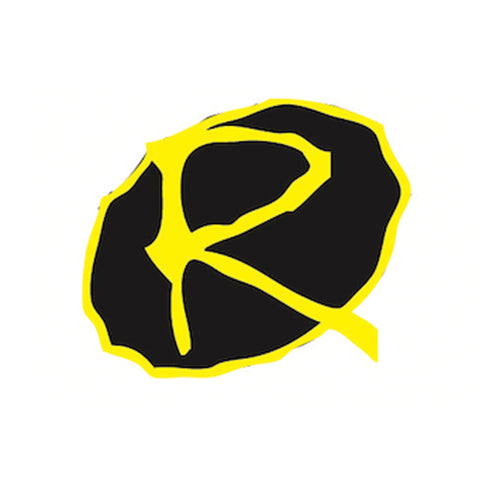 Rampworx Sticker, Black/Yellow