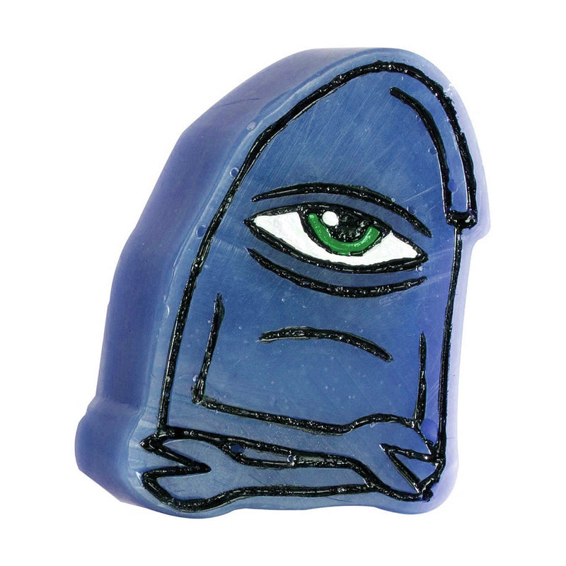 Toy Machine Skateboards Face Wax, Blue Wax Toy Machine