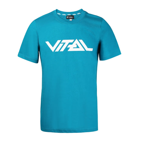 Vital Scooters  Logo T-shirt, Teal