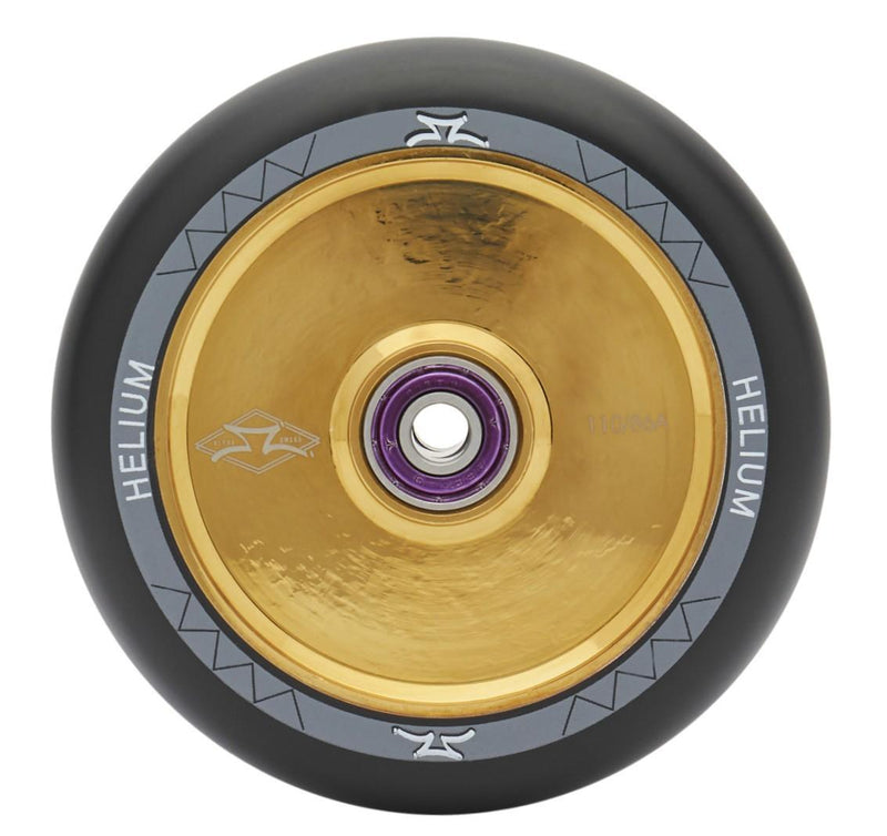 AO Scooters Helium Stunt Scooter Wheel 110mm, Gold