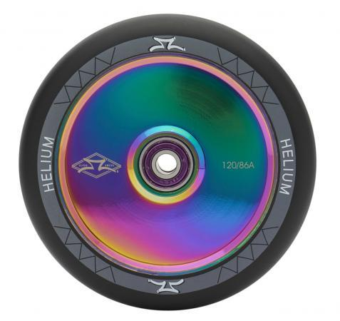 AO Scooters Helium Stunt Scooter Wheel 120mm, Oil Slick