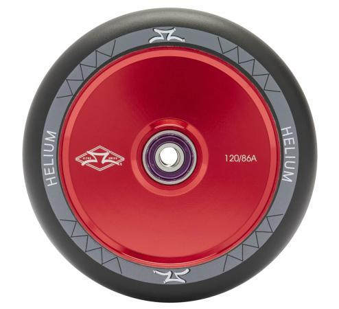 AO Scooters Helium Stunt Scooter Wheel 120mm, Red