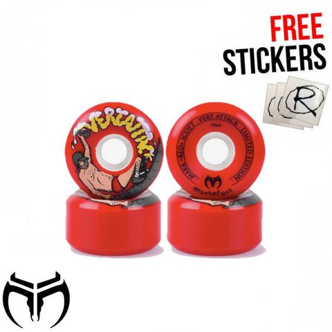 Muckefuck Vert Attack Skateboard Wheels 59mm