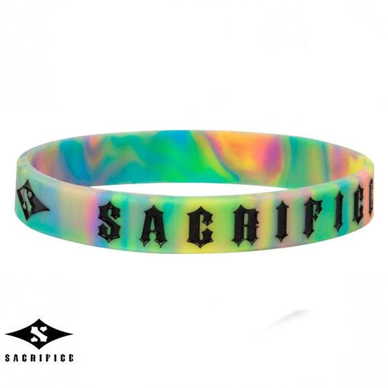 Sacrifice Rubber Wristband, Tie Dye Accessories Sacrifice