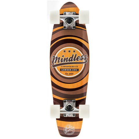 Mindless Longboard Stained Daily II Cruiser - Brown