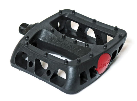 Odyssey BMX Twisted JC PC Pedals, Black