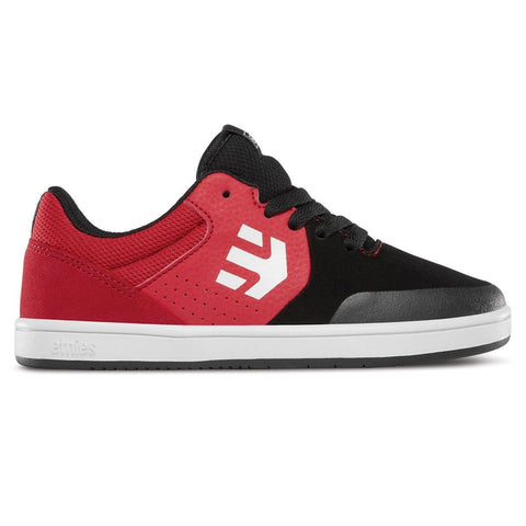 Etnies Kids Marana Skate Shoe - Black/Red