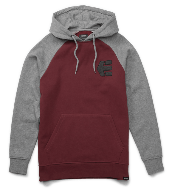 Etnies Breakers Pullover Hoodie, Grey/Heather Clothing vendor-unknown XX Large
