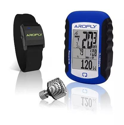 Arofly Smart Bike Meter + A Plus Meter + A Heart Rate Wrist Band