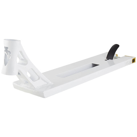 "North Scooters Atlas Theatrum Pro Stunt Scooter Deck - 5.75"" MATTE WHITE"